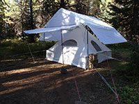 Canvas Spike Tent
