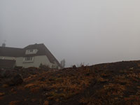 Light Rain and Fog at Timberline Lodge
