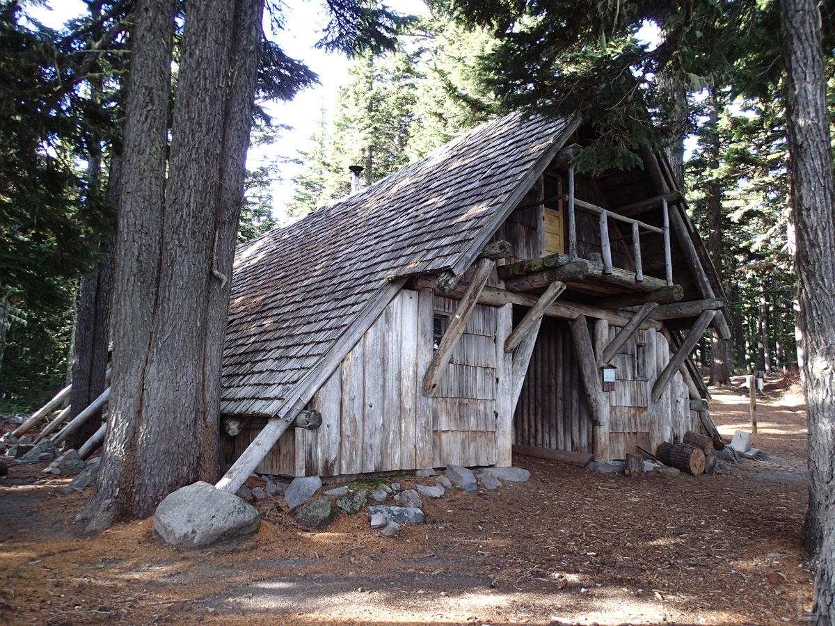 Fall Hike Up Tilly Jane Trail to Cooper Spur Stone Shelter   Loomis ...