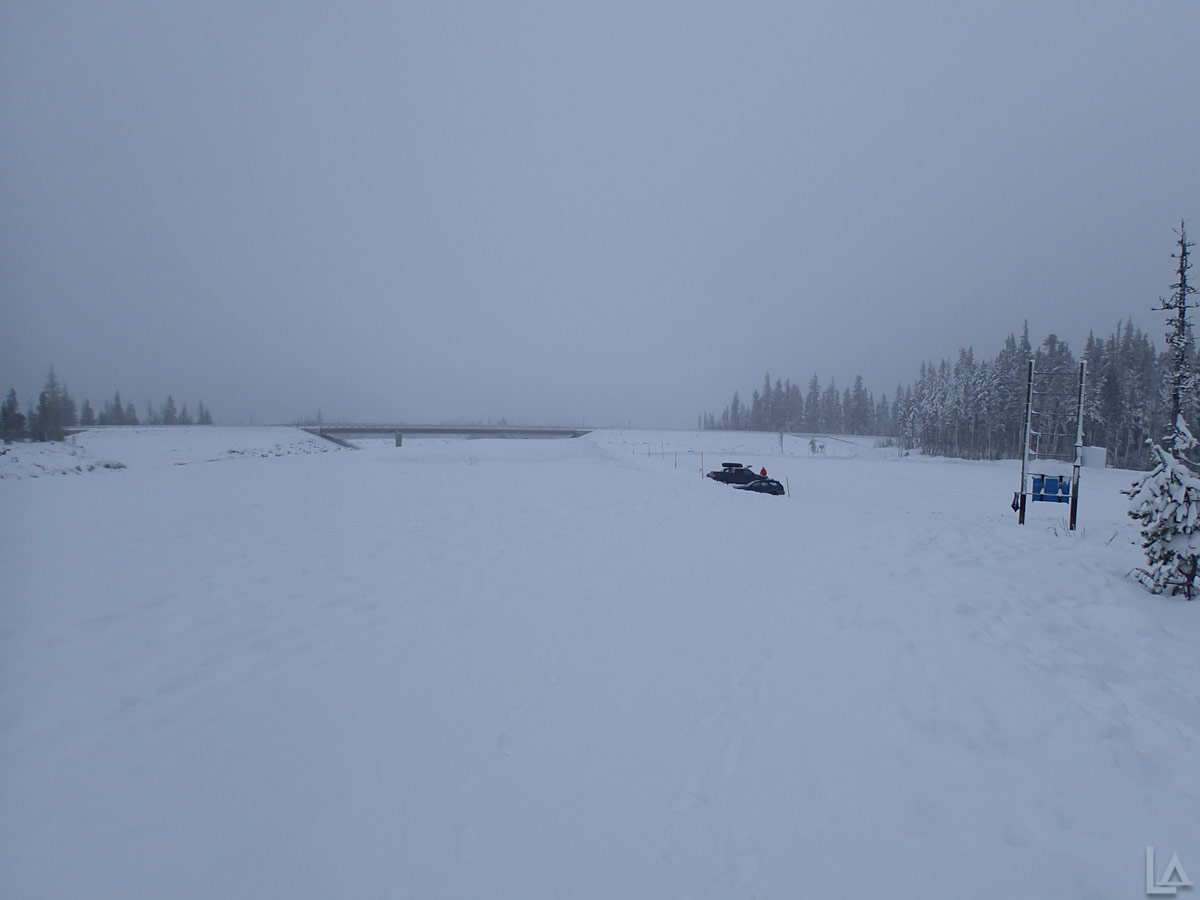 Early Morning at White River Sno-Park