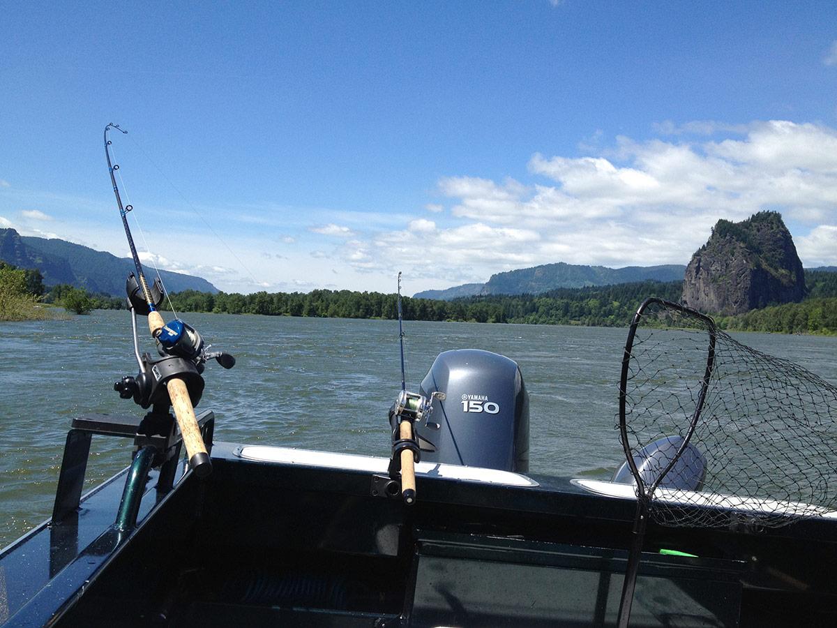 Fishing loomis adventures camping hiking fishing for Fish camping boat