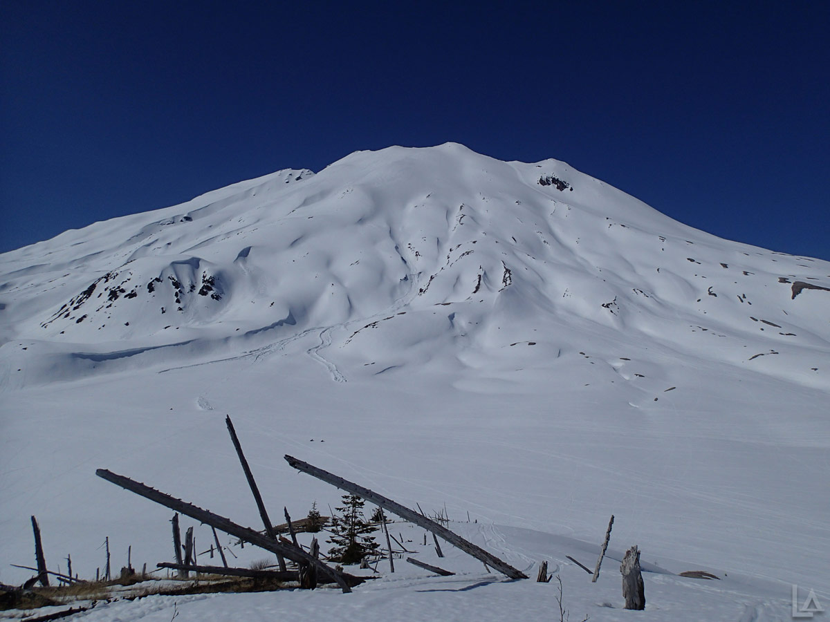 Mount Saint Helens from another Unnamed Mountain