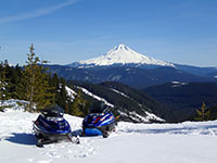 Mt Hood Viewpoint from Forest Service Rd 58