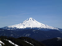 South Side of Mt Hood