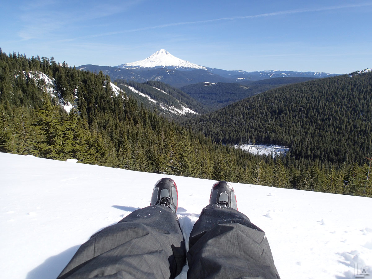 Just Mt Hood and My Feet