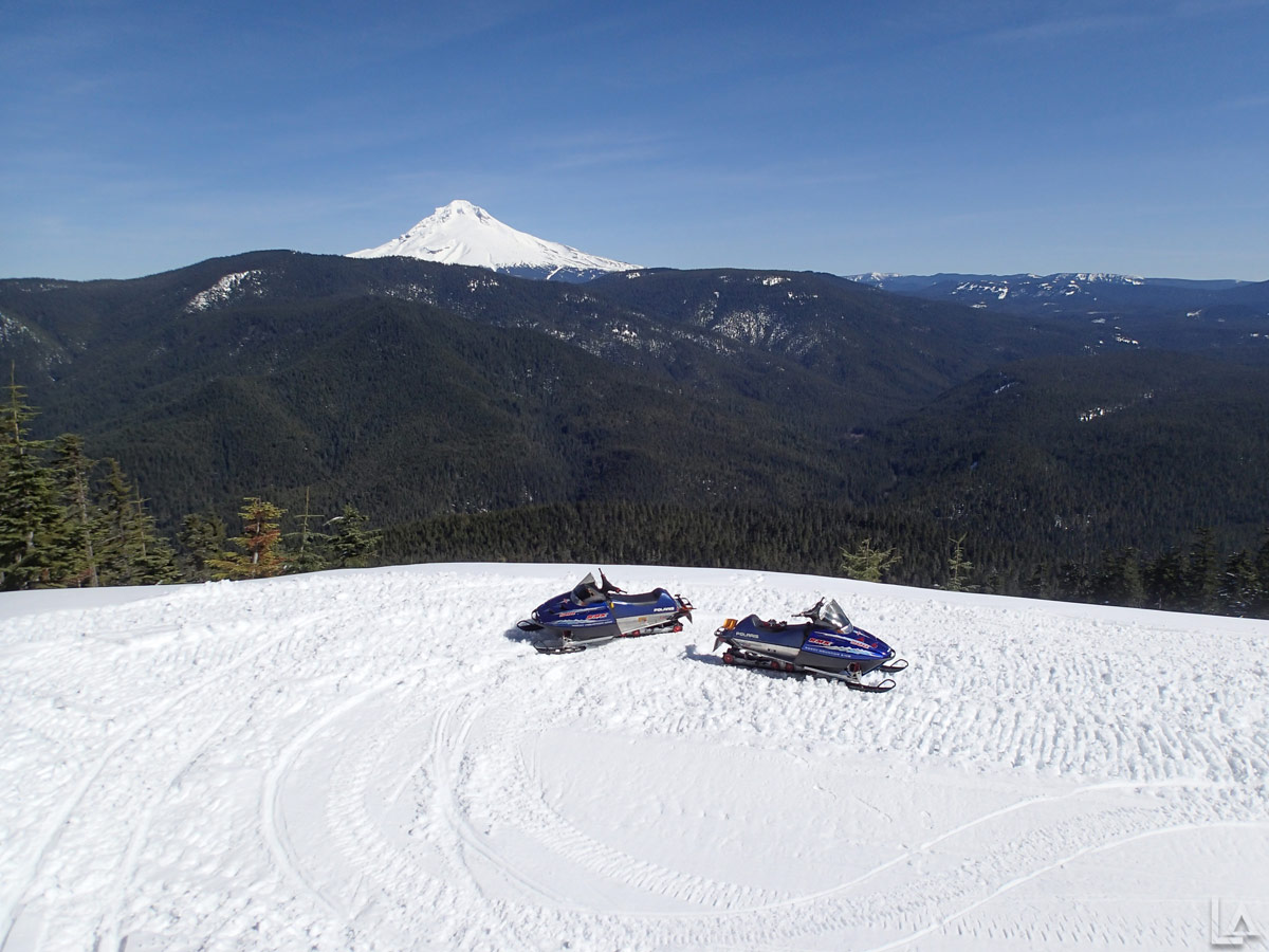 Snowmobiling Near Mt Hood