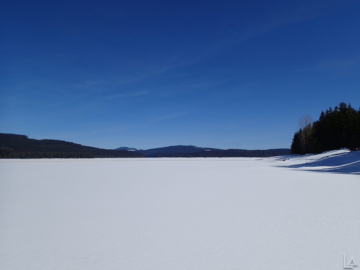Frozen Timothy Lake