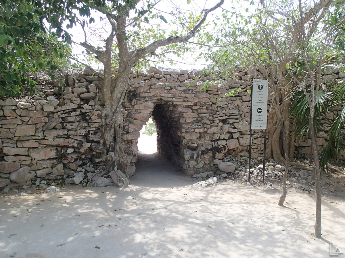 Entrance to Tulum Ruins