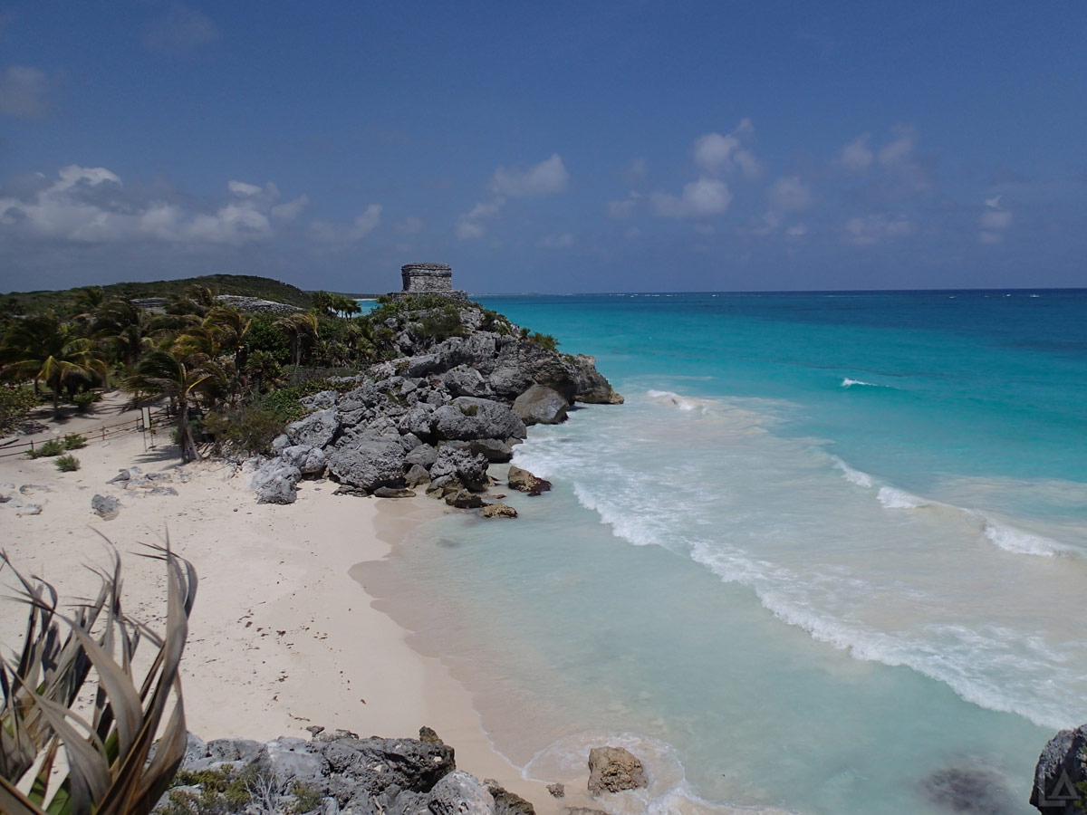 Tulum Ruins Along the Caribbean Sea