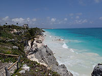 Tulum Ruins Overlooking the Caribbean Sea