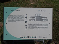 El Castillo (The Castle) Interpretive Sign