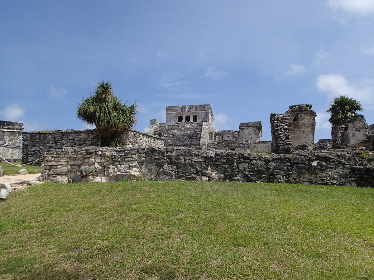 El Castillo (The Castle) at Tulum Archeological Site