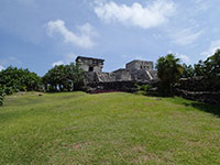 El Templo Del Dios Descendente (The Temple of the Descending God) at Tulum