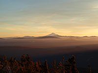 Mt Jefferson at sunset from Bonney Butte
