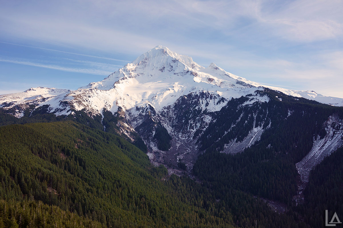 Mt Hood from Bald Mountain