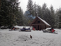 Mt Hood Snowmobile Club's Warm Springs Cabin