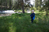 Julian at Fall River - Deschutes N.F., Oregon