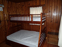Fall River Guard Station - Bedroom 1