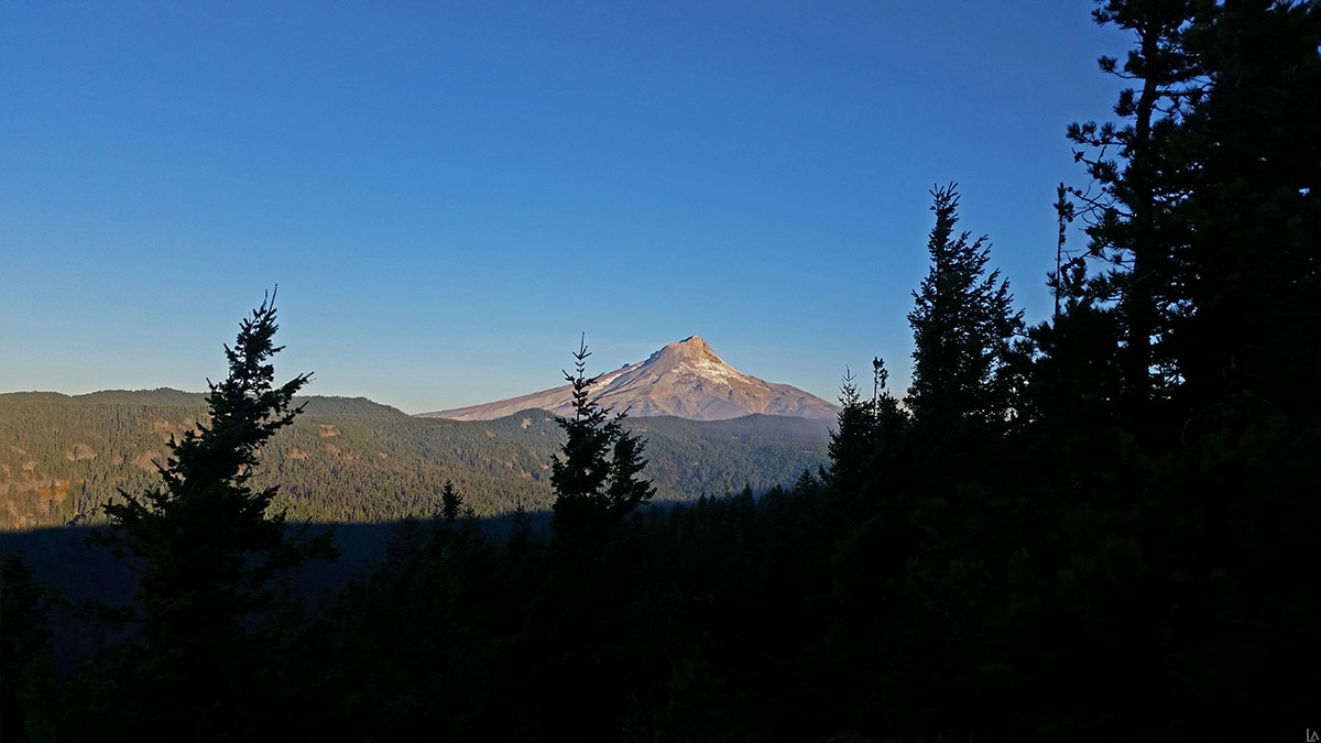 Mt Hood from Grasshopper Point
