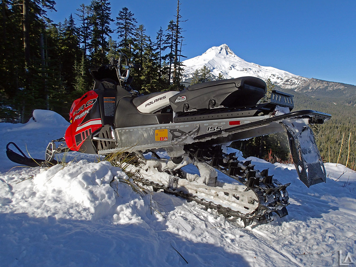 One last look at Mt Hood with a Polaris Pro RMK