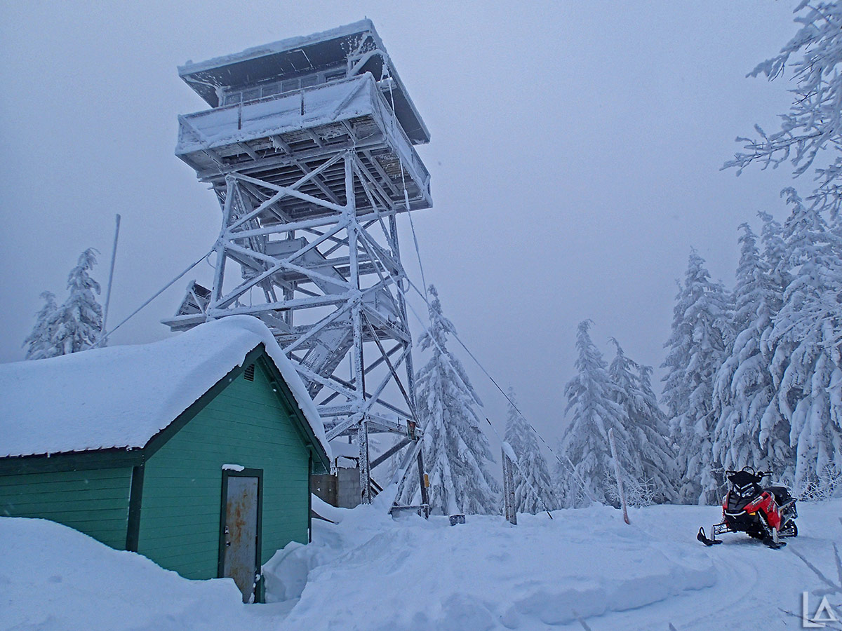 Clear Lake lookout tower