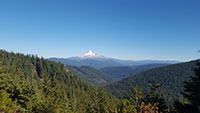 Mt Hood from High Rocks