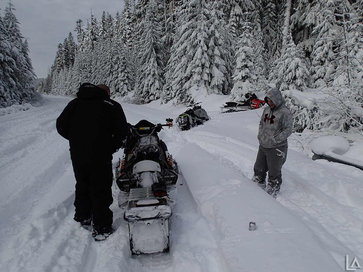 Snowmobile break
