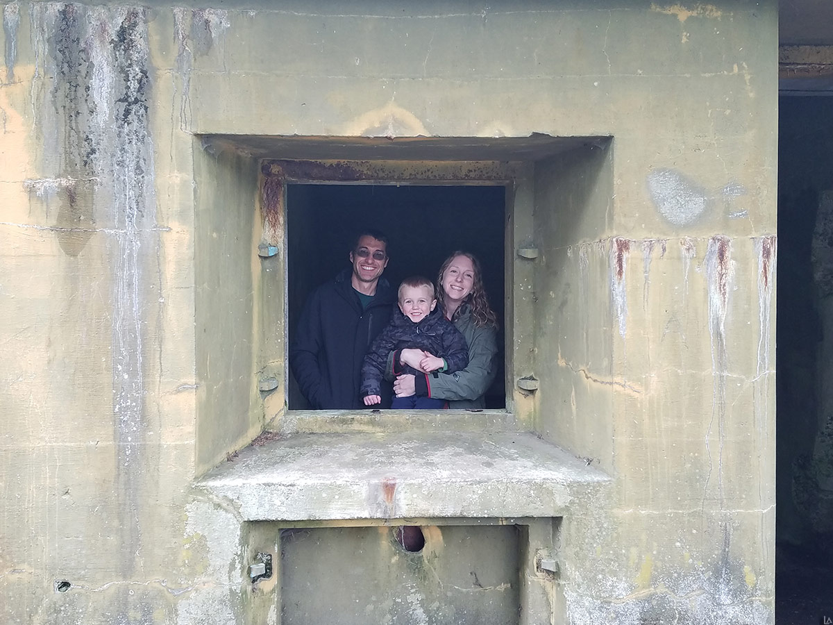 Family fun at Battery Russell