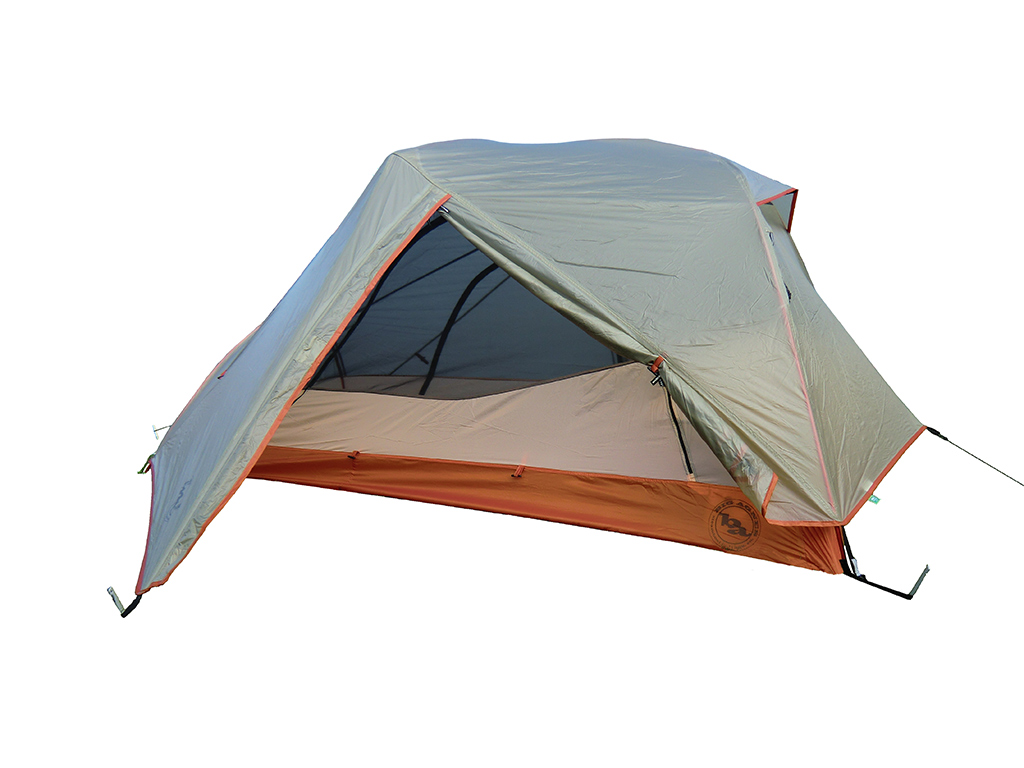 Big Agnes Copper Spur UL2 Tent - with Fly Partially Open  sc 1 st  Loomis Adventures & Big Agnes Copper Spur UL2 Tent Review | Loomis Adventures ...