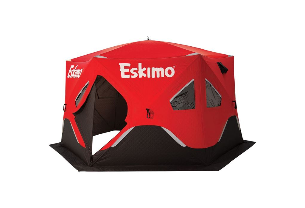 Eskimo FatFish 6120i Pop-Up Shelter Review | Loomis