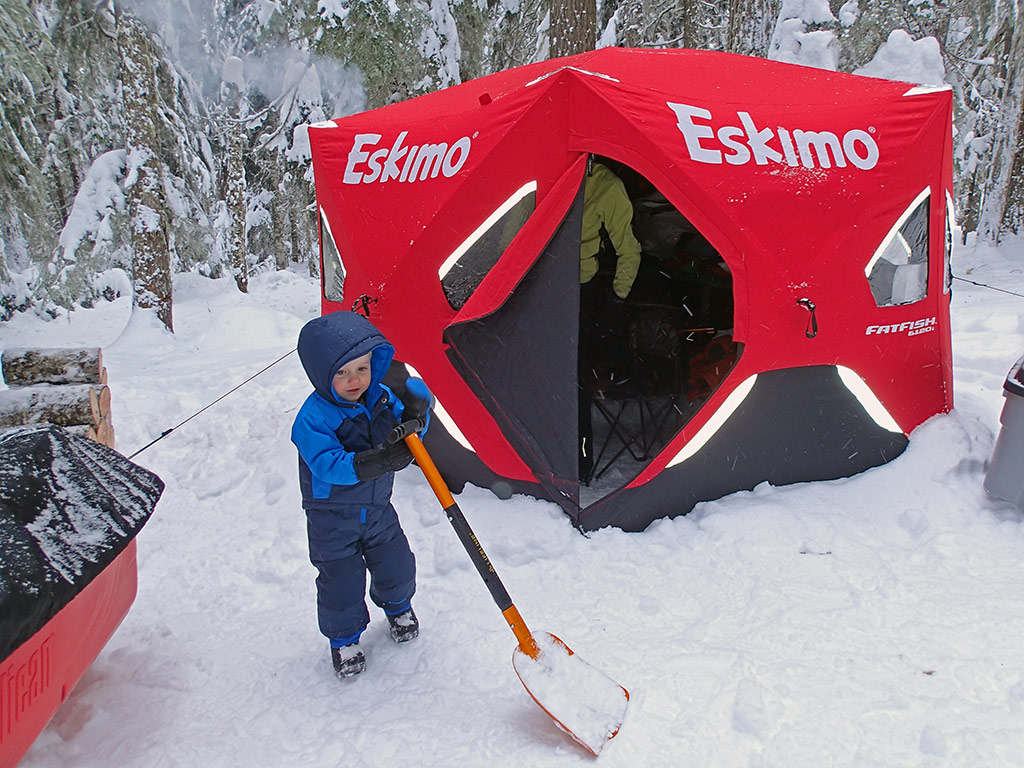 Eskimo Fatfish Tents & I Have Always Been Picky About