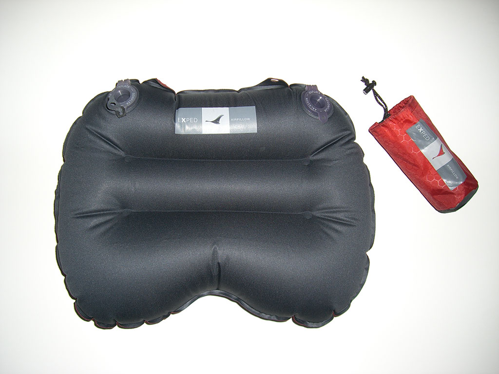 Exped Air Pillow Review Loomis Adventures Camping