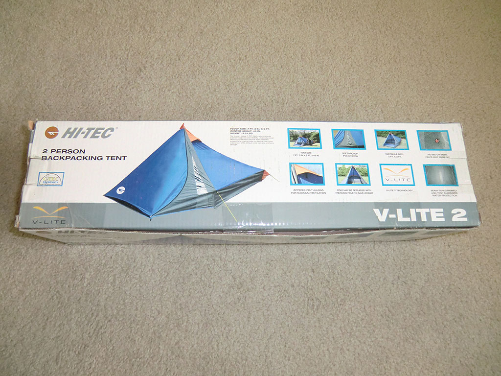 Hi-Tec V-Lite 2 Tent - In Box & Hi-Tec V-Lite 2 Tent Review | Loomis Adventures | Camping Hiking ...