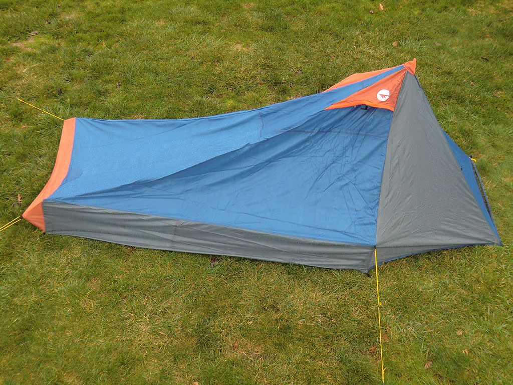 Hi-Tec V-Lite 2 Tent - Side & Hi-Tec V-Lite 2 Tent Review | Loomis Adventures | Camping Hiking ...
