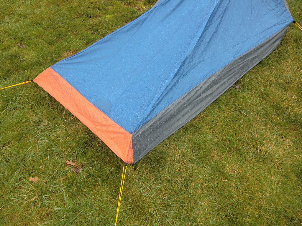 Hi-Tec V-Lite 2 Tent - Water Puddle & Hi-Tec V-Lite 2 Tent Review | Loomis Adventures | Camping Hiking ...