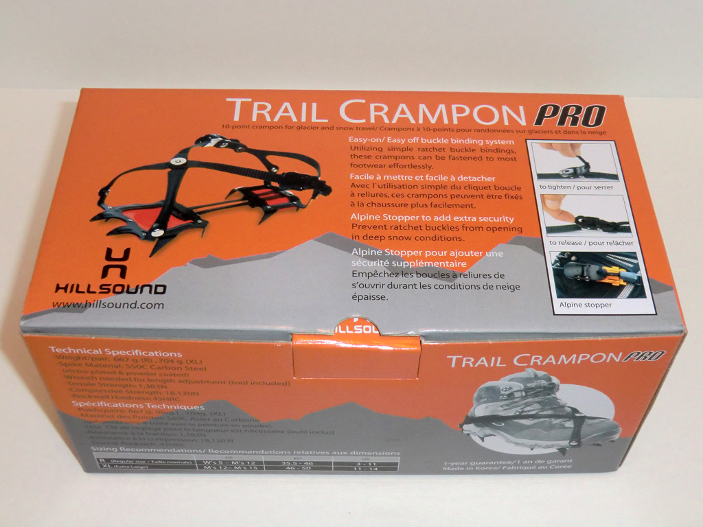 Hillsound Trail Crampon Pro Review Loomis Adventures