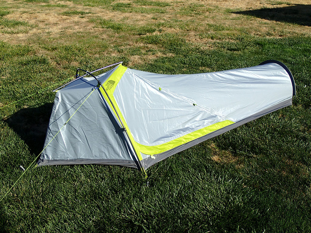 The North Face Asylum Bivy - Door Side & The North Face Asylum Bivy Review | Loomis Adventures | Camping ...