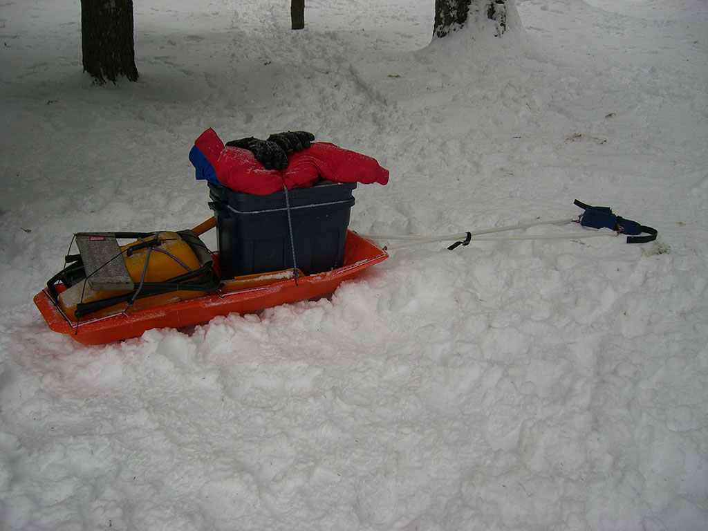 Paris Expedition Sled Review | Loomis Adventures | Camping