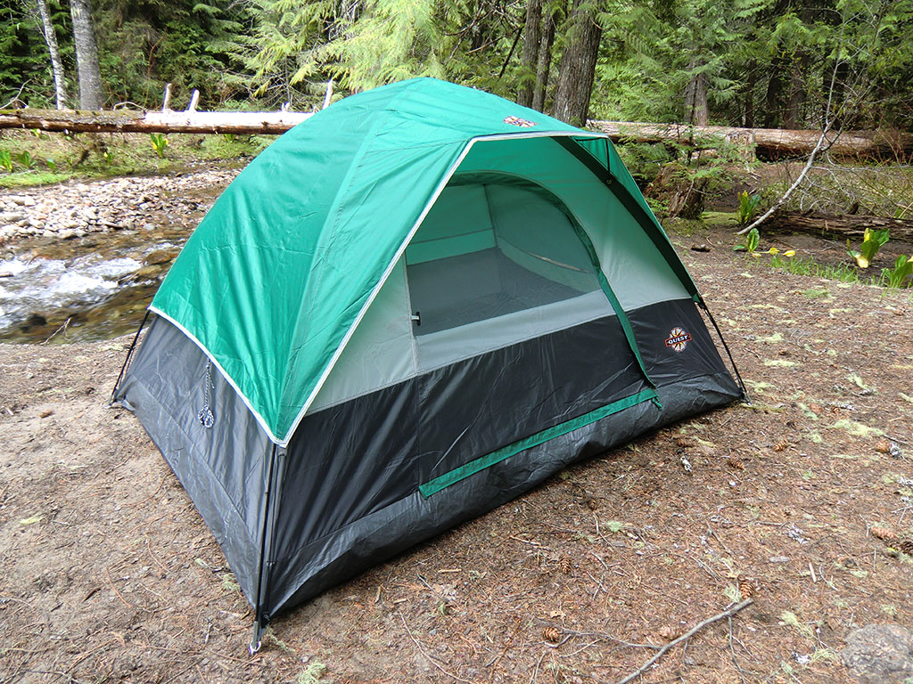 Quest Eagles Peak 2 Tent w/Rain Fly & Quest Eagles Peak 2 Tent Review | Loomis Adventures | Camping ...