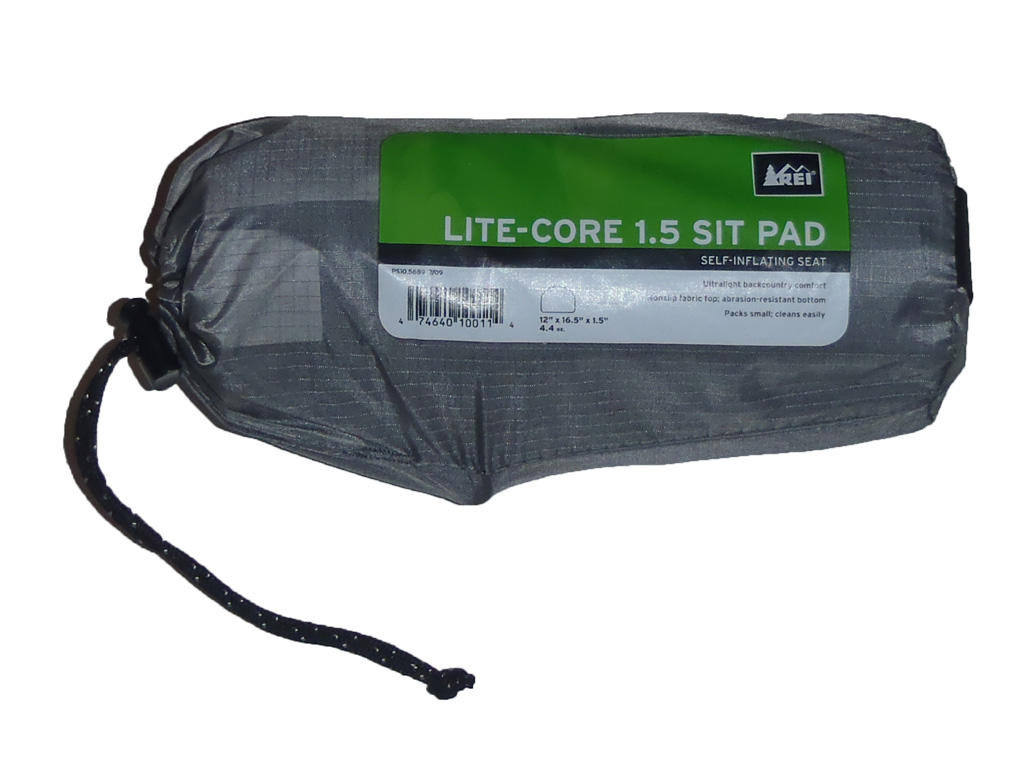 Rei lite core sit pad review loomis adventures camping for Rei fishing gear