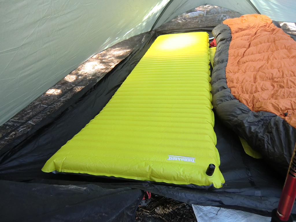 Therm A Rest Neoair Mattress Review Loomis Adventures Camping