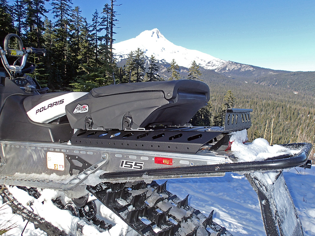 Up North Technologies PRO SERIES Snowmobile Cargo Rack ...