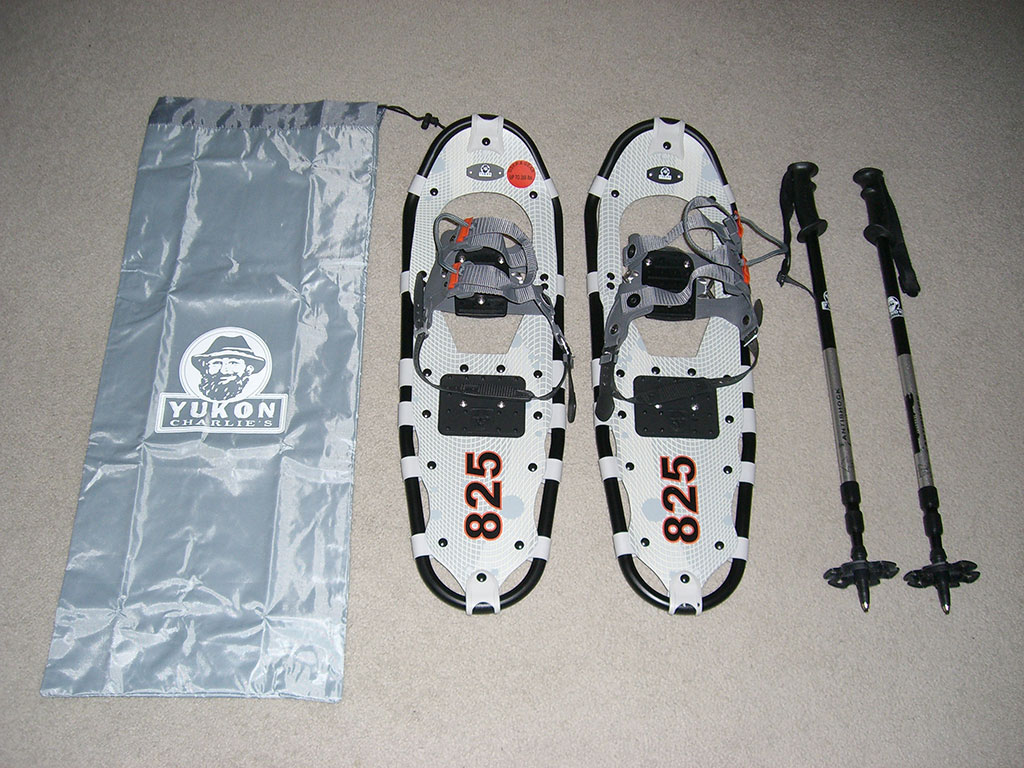 Yukon Charlie's Pro-Guide Aluminum Snowshoes Review | Loomis