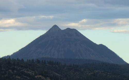 Black Butte from I-5 (Siskiyou County, California)