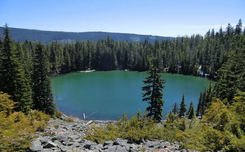 Catalpa Lake - Mount Hood National Forest, Oregon