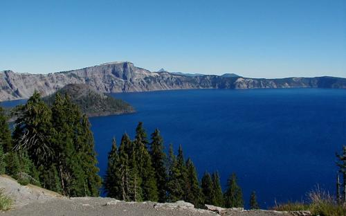 Crater Lake - Crater Lake National Park, Oregon