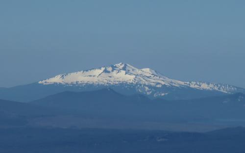 Diamond Peak from North Sister, Oregon