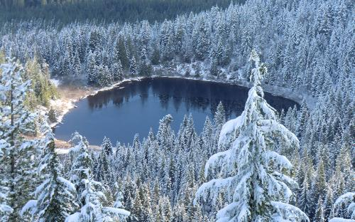 Mirror Lake - Mt Hood National Forest, Oregon