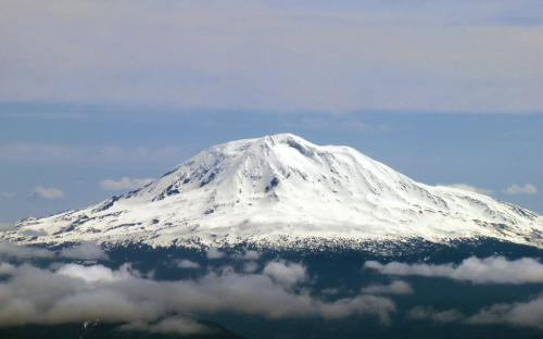 Mount Adams from Mount St. Helens, Washintgon