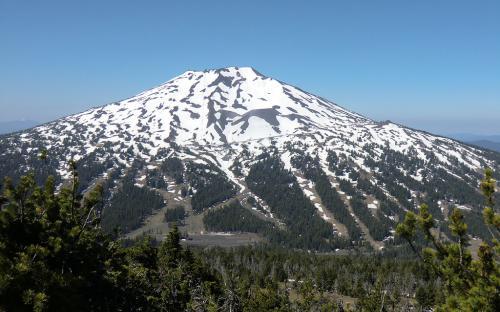 Mount Bachelor from Tumalo Mountain, Oregon